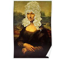Blonde Mona Lisa  Poster
