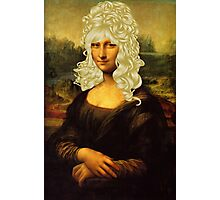 Blonde Mona Lisa  Photographic Print