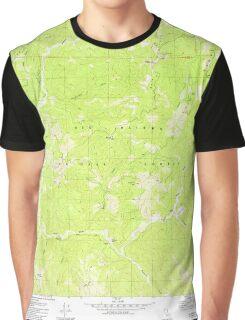 USGS TOPO Map California CA Ship Mountain 300465 1982 24000 geo Graphic T-Shirt