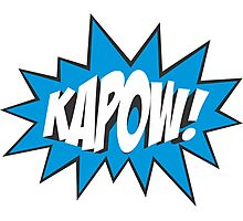 Kapow! Photographic Print