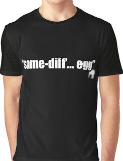 Same Diff Egg (kiwi) Graphic T-Shirt