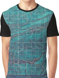 USGS TOPO Map Arkansas AR Mount Ida #2 260208 1887 62500 Inverted Graphic T-Shirt