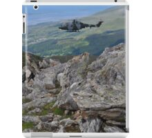Millitary Helicopter Excersises iPad Case/Skin