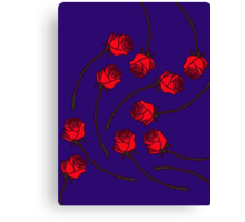 Rose - Who/Red Canvas Print