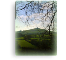 Brentor in the distance Canvas Print