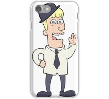 cartoon businessman iPhone Case/Skin