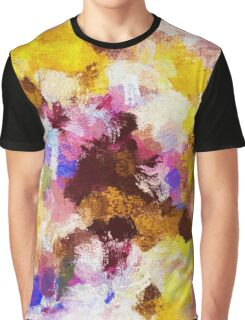 Abstract Oil Painting Graphic T-Shirt