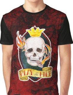 Play with Fire Graphic T-Shirt