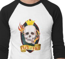 Play with Fire Men's Baseball ¾ T-Shirt