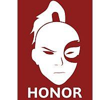 Prince Zuko - HONOR! Photographic Print
