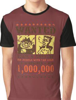 Wanted - Boris & Natasha Graphic T-Shirt