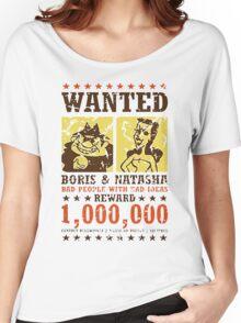Wanted - Boris & Natasha Women's Relaxed Fit T-Shirt
