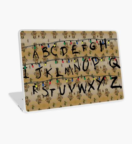 Stranger Things - Alphabet Laptop Skin