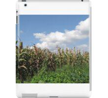 Corn Field In Deer Land iPad Case/Skin