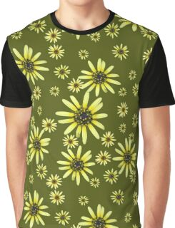 Yellow Daisy Graphic T-Shirt