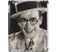 Harold Lloyd, Comedy Actor iPad Case/Skin