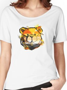 ROBUST Bear Splater Women's Relaxed Fit T-Shirt