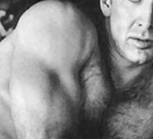 Sexy Nicholas Cage Sticker