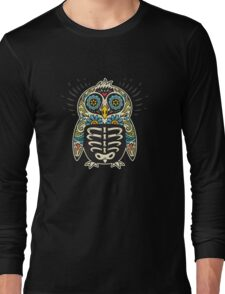 Sugar skull penguin  Long Sleeve T-Shirt