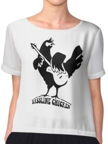 bassline chicken Chiffon Top