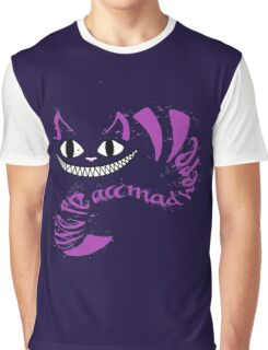 We're All Mad Hereestr Graphic T-Shirt