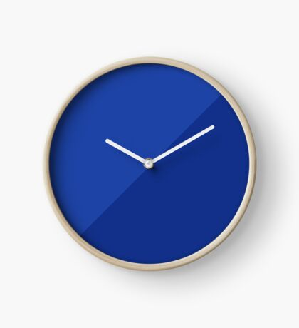 Two Tone in Blue Clock