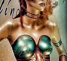 Space age woman by cherylkerkin