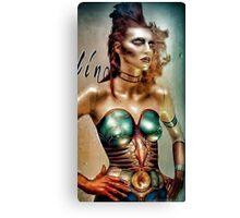 Space age woman Canvas Print