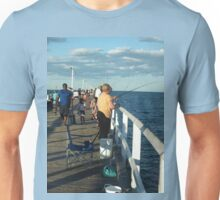 Urangan Jetty  Hervey Bay Qld Australia Unisex T-Shirt