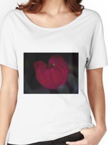 Single Dreamy Begonia Orchid  Women's Relaxed Fit T-Shirt