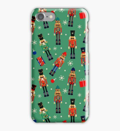 Holiday Nutcracker iPhone Case/Skin