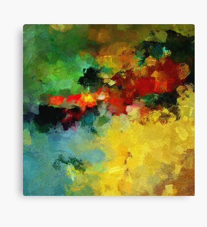 Landscape Abstract Art Print Canvas Print