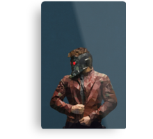 Starlord from Guardians of the Galaxy Metal Print