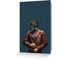Starlord from Guardians of the Galaxy Greeting Card