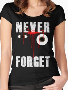 Never Forget Glenn Women's Fitted Scoop T-Shirt
