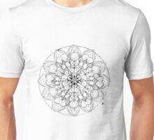 Flower Mandala Original Drawing Unisex T-Shirt
