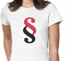 Paragraph article Womens Fitted T-Shirt