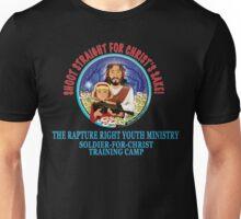 Shoot Straight for Christ's Sake! Unisex T-Shirt