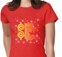 Stars The Price is right Womens Fitted T-Shirt