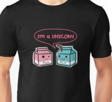 Funny Unicorn Shirt, Cute Milk Carton, Kawaii by Zany Brainy  Unisex T-Shirt