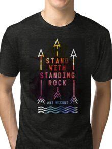 standing rock  #NODAPL Shirt Tri-blend T-Shirt
