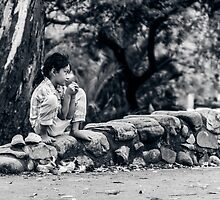 Stolen Shot of Childhood by Mathieu Longvert