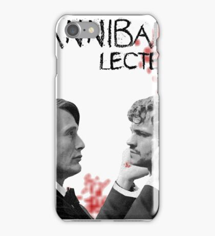 Hannibal Lecter Bloody [To be, or not to be] iPhone Case/Skin