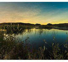 Sunrise in the Columbia Wildlife Refuge Photographic Print