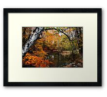 In Dreams Of Fall Framed Print