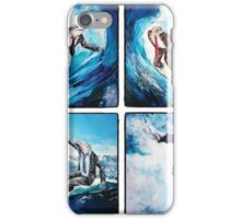 4 Surfers  iPhone Case/Skin