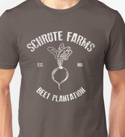 Schrute Beet Plantation Unisex T-Shirt