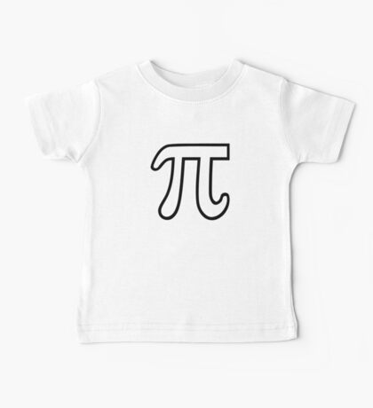 Pi number Baby Tee