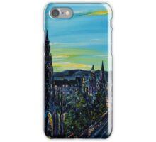 Princess Street Blue iPhone Case/Skin