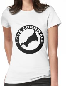 love cornwall Womens Fitted T-Shirt